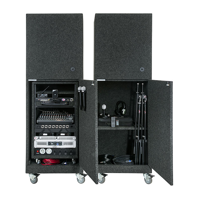 The Mega Max Pro Deluxe2 With QSC Subwoofer