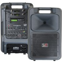 AC/DC Battery Powered Portable Sound Systems